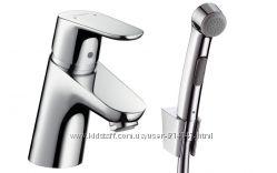 Hansgrohe 31926000 Focus E2 31926 Смеситель с Гигиеническим Душем для Раков