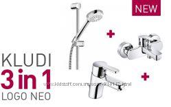 Kludi 376850575 Logo Neo Комплект Смесителей Набор для Ванны