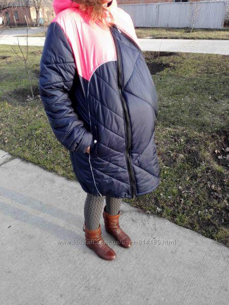 Как сделать вставку на куртку для беременных 27