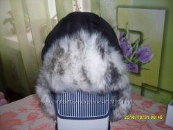 Теплая шапочка- ушанка для мальчика