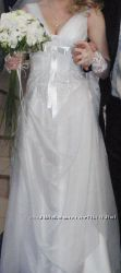 Свадебное платье. Перчатки в подарок