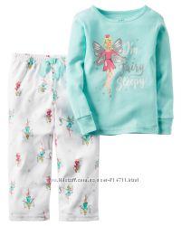 Флисовая пижама Carters Картерс 2T