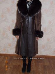 На высокий ростПродам кожаное пальто б&92у в хорошем состоянии