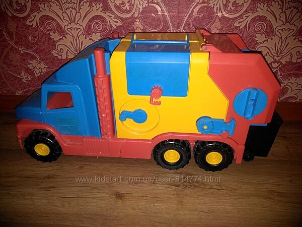 Мусоровоз Wader Super Truck