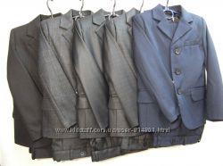 Школьная форма-тройка класса люкс, пиджаки, удобные современные модели