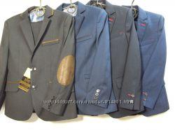 Школьная форма. Новый дизайн. Выбор синих. Модный декор. Фабричная посадка.