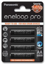 Panasonic Eneloop Pro 2550 mAh min. 2450 mAh - аккумулятор АА. Япония