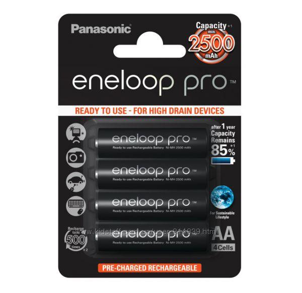 Panasonic Eneloop Pro 2500 mAh - Пальчиковый аккумулятор АА