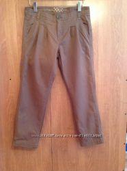 Женские штаны брюки коричневого цвета