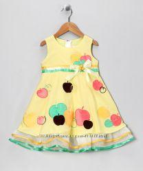 Нарядное дизайнерское платье на девочку 5-6 лет