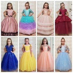 Платья нарядные, выпускное, бальное платье, пошив по фигуре и в наличии.