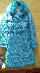 зимняя курточка 46- 50 размер.