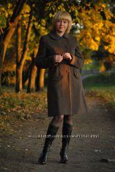 Фирменное кашемировое пальто в идеальном состоянии