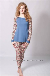 Женская пижама комплект для дома   С М Л ХЛ 2ХЛ два цвета