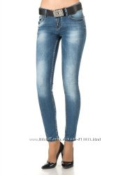 Женские джинсы moschino heppio 7322-344 dnm blue