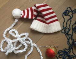 Новогодняя шапочка колпак санты