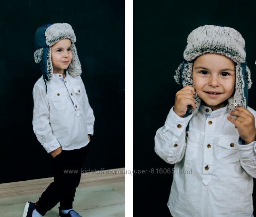 Зимняя шапочка очень стильная