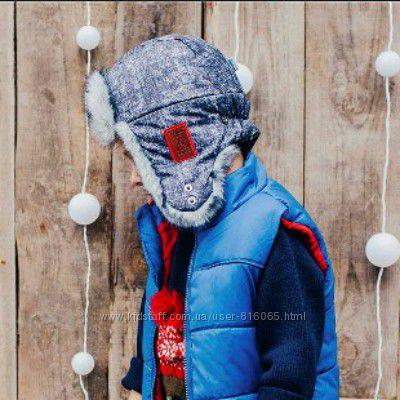 СкидкаШапка ушанка зимняя