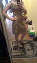 В ПОДАРОК- Платье очень легкое на завязочках, тигровой расцветки