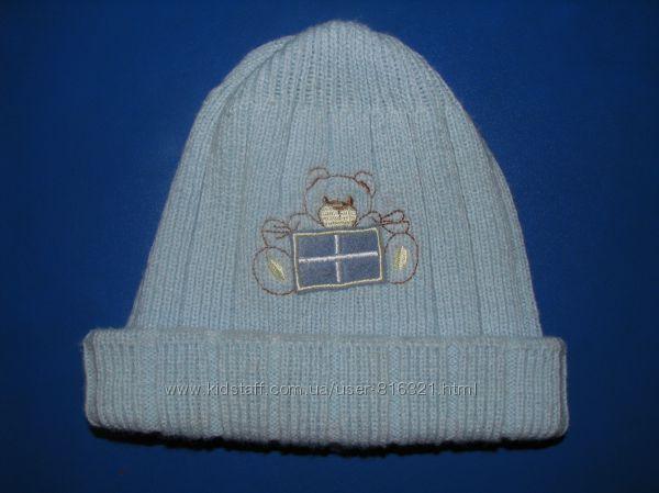 Тёпленькая шапочка для мальчика