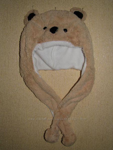 Классная тёплая шапка для стильного малыша