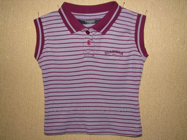 Стильная фирменная футболка Diadora