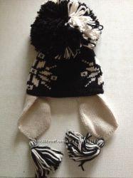 Тёплая новая шапка-ушанка