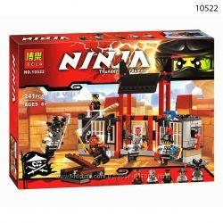 Конструктор Bela Ninja 10525 10522  Ninjago нинзяго Робот Ронина и побег