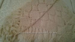 вязаный платок ручная вязка