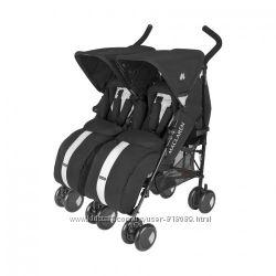 В идеальном состоянии коляска для двойни Maclaren Twin Тechno