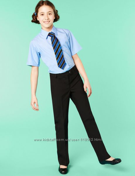 Школьная блузка, рубашка для девочки Marks&Spencer на 8-16 лет