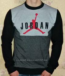 Свитшот Jordan, Adidas комбинированный. Весна- лето.