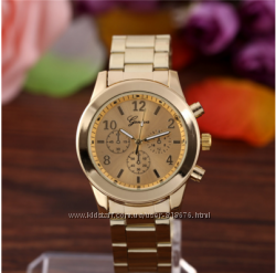 Женские часы Geneva Luxury золото