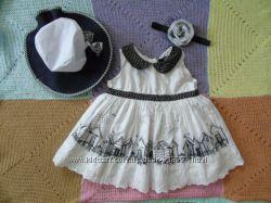 Плаття 12-18 повязка та капелюх
