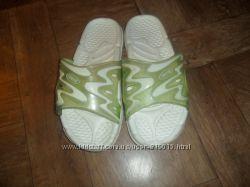 Шлепки для девочки AQUATEAM, стелька 22 см, размер 34, хорошее состояние.