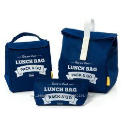 Комплект термосумок для ланча Lunch Bag синий