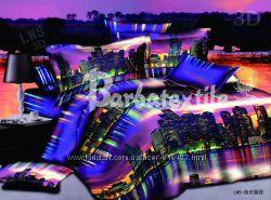 Постельный комплект ночной город