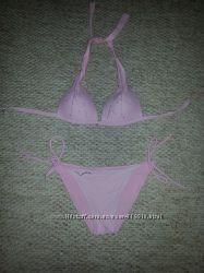 Розовый купальник
