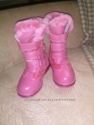 Ботинки для девочки кожа