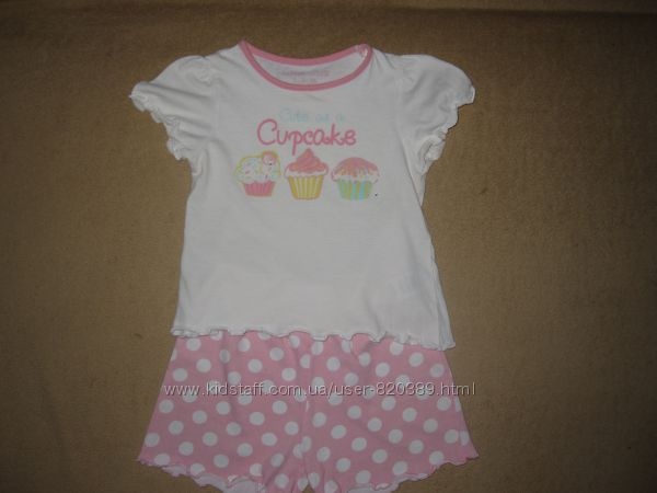Красивая пижама девочке на 1-2 года