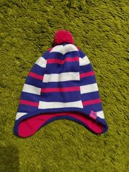 Яркая теплая шапка Adidas , р.49-52