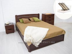 Деревянная кровать София с подъемным механизмом