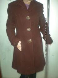 продам кашемировое пальто шеколадного цвета