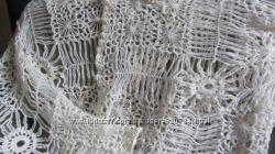 шарф-палатин ажурный ручной работы