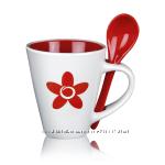 Чайный набор Цветок жизни Красный