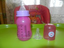 Бутылочка и 2  соски