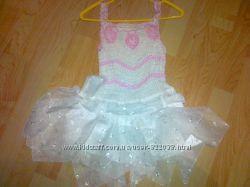 Платье нарядное 1-3года