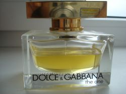 Продам оригинальный парфюм  Dolce&Gabbana The One остаток