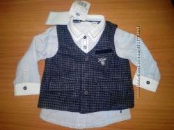 Комплект рубашка и жилетка Chicco