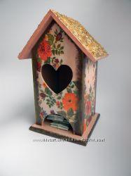 Чайный домик в пастельных тонах